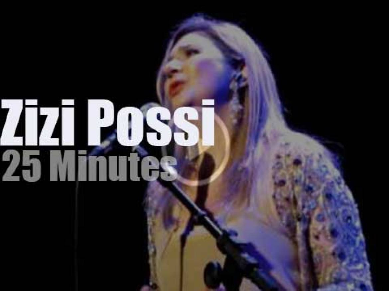 Zizi Possi enchants Sao Paulo  (2012)