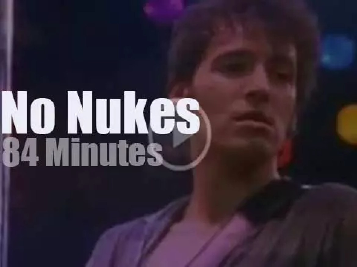 Bruce, Jackson, Carly and all play against the nukes (1979)