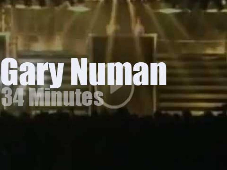 Gary Numan rocks Glasgow (1987)