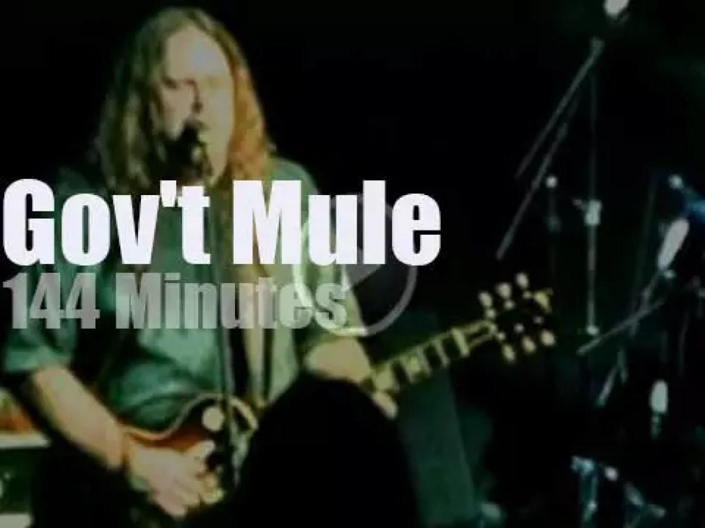 Gov't Mule kicks it in Atlanta (1995)