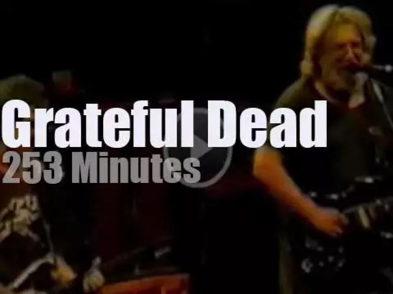 Grateful Dead spend two nights in the Garden (1987)