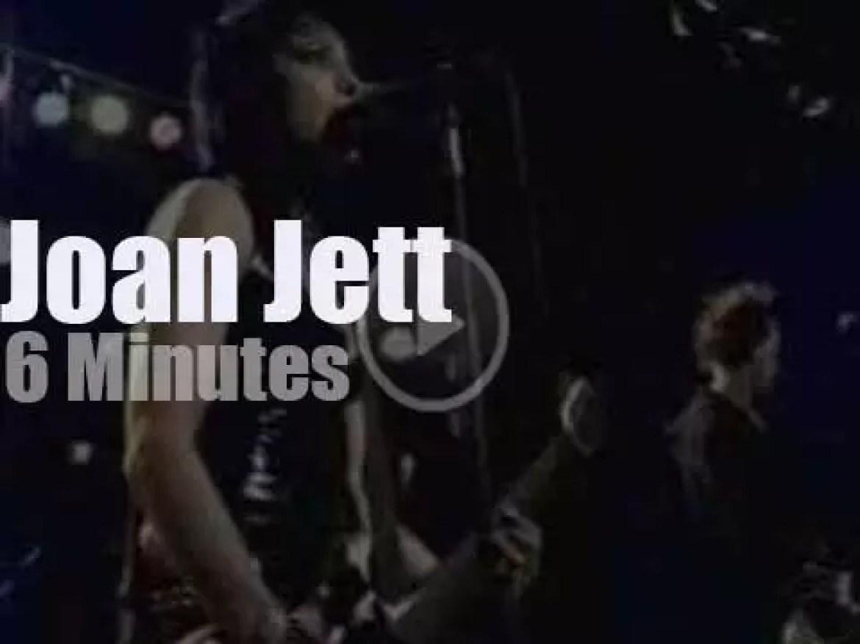 On TV Today, Joan Jett with Craig Ferguson (2006)