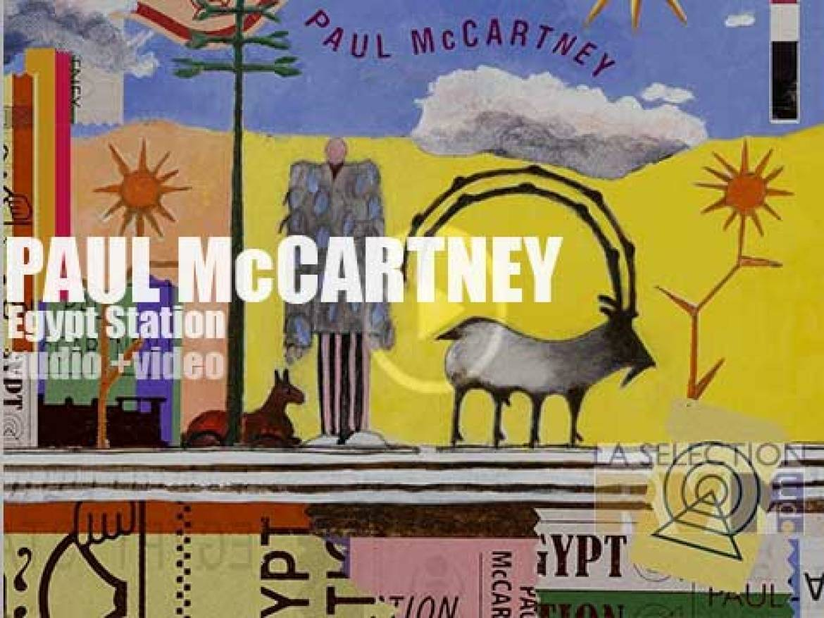 At 76, Paul McCartney adds fourteen super fresh songs to his huge opus. Don't say 'mummification' at 'Egypt Station'