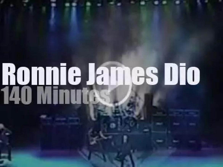 Ronnie James Dio serenade Russians (2005)