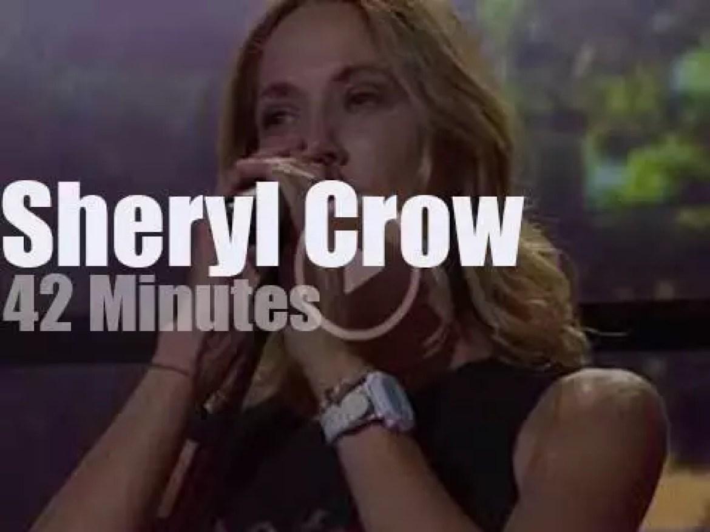 Sheryl Crow  comes back to Farm Aid (2017)
