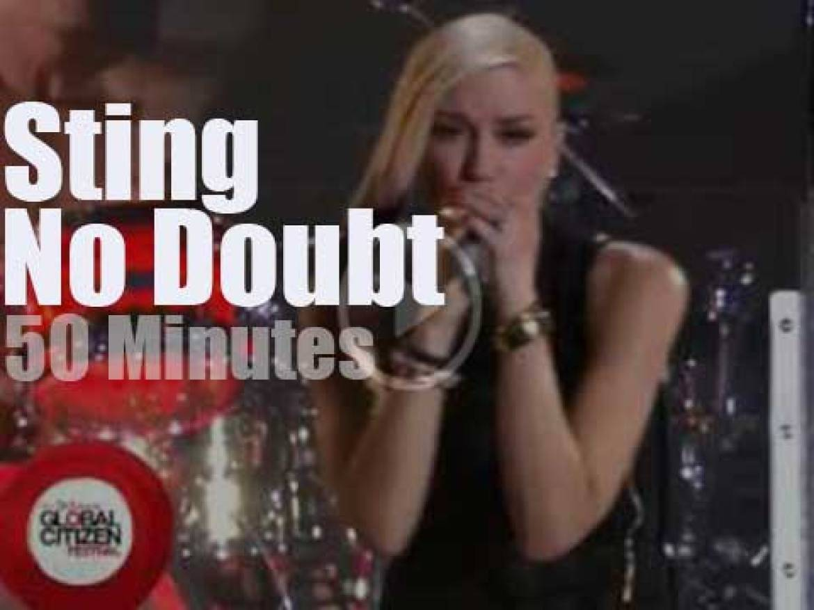 Sting sits in with No Doubt (2014)