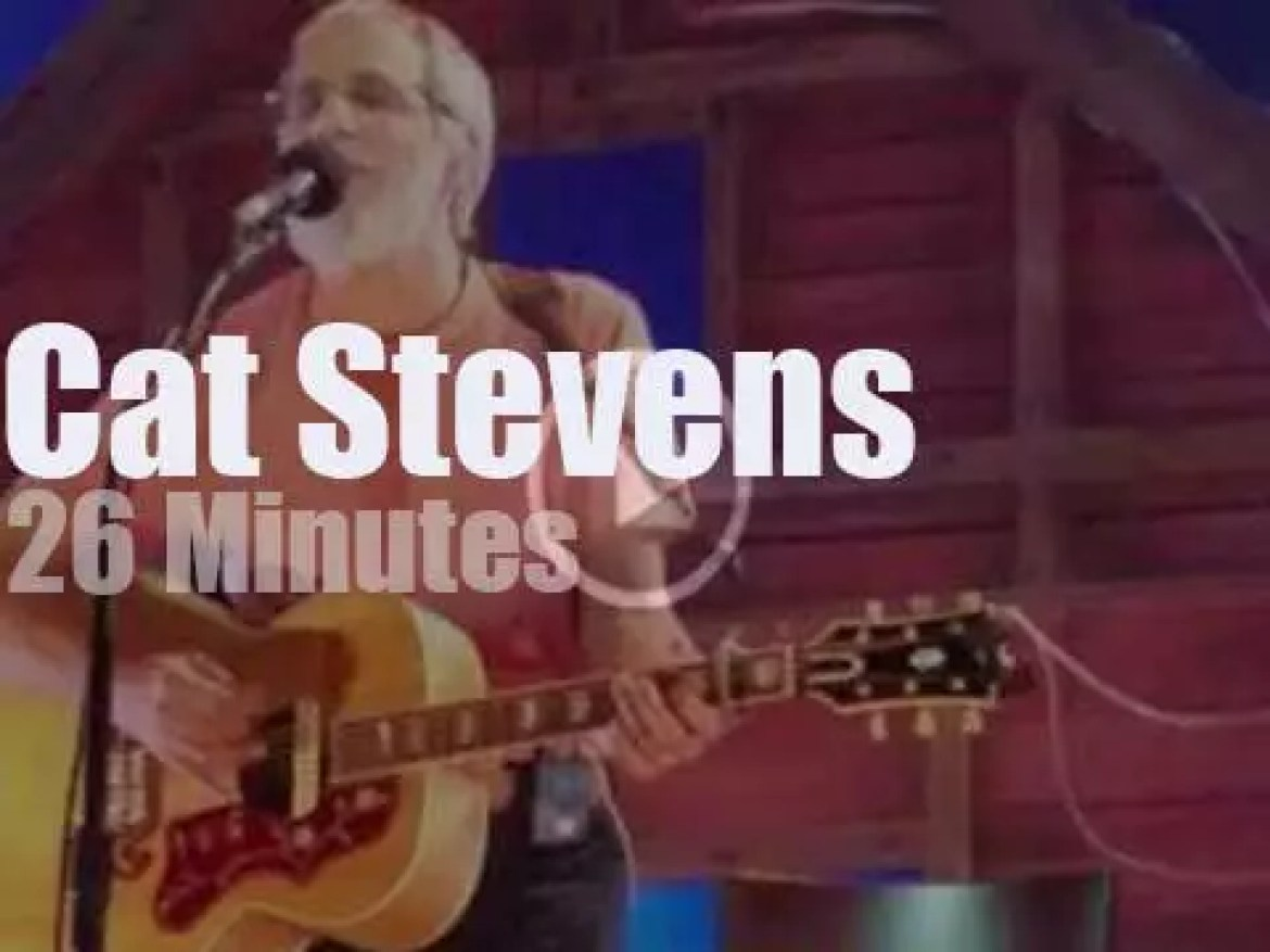 Yusuf Cat Stevens is by himself in Philly (2016)