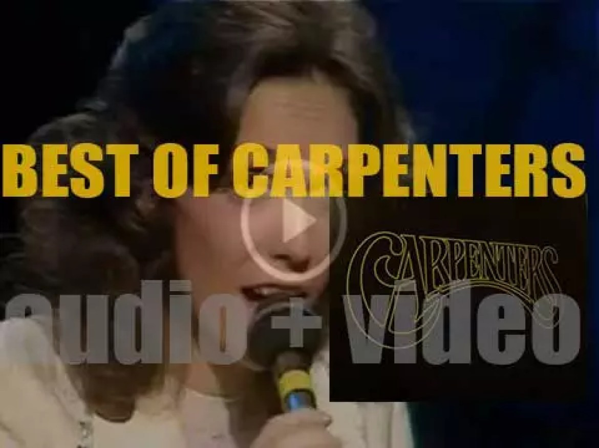 As we wish today a happy birthday to Richard Carpenter, the time is perfect for a 'Carpenters At their Bests' post