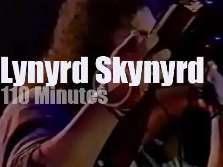 Lynyrd Skynyrd reunite for a 'Tribute Tour' (1987)