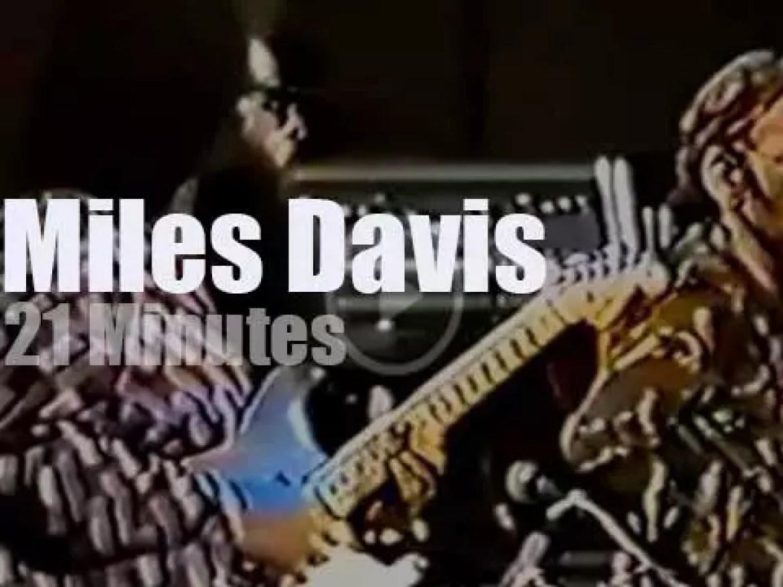 Miles Davis  takes his septet to Stockholm (1973)