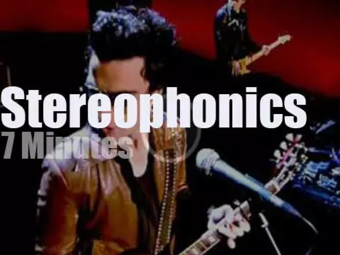 On English TV today, Stereophonics on '4music' (2007)