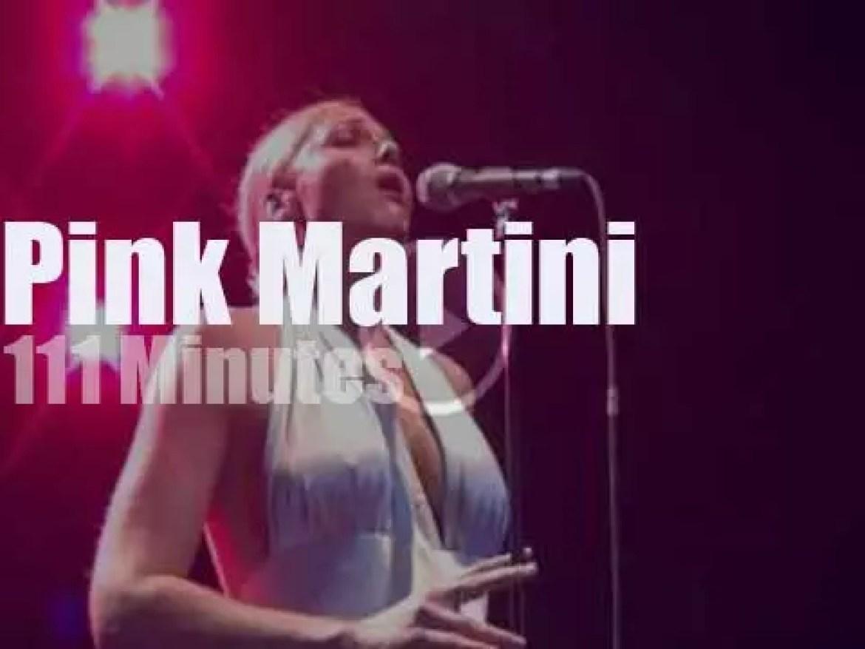 Pink Martini enchant Paris (2013)