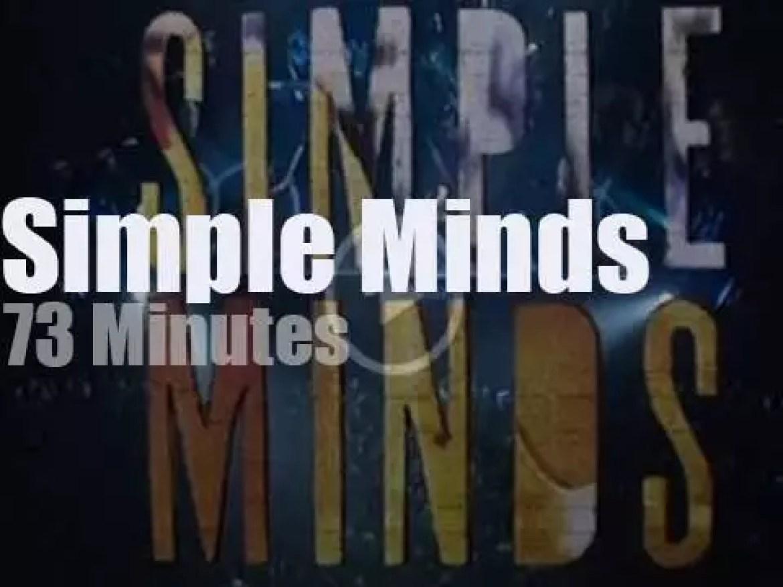 Simple Minds visit Paris (1995)