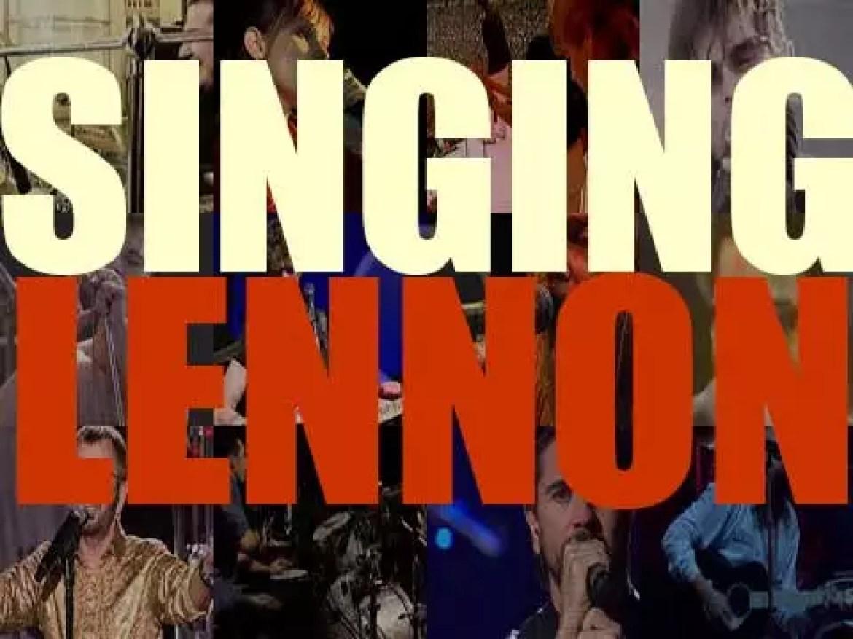 Singing  Lennon