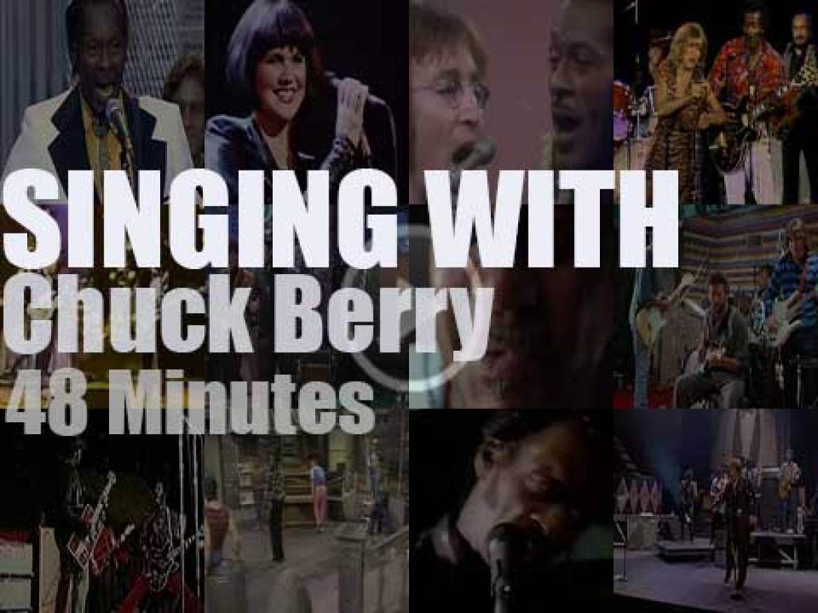 Singing (and playing) With Chuck Berry
