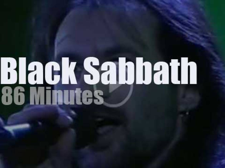 Black Sabbath rock Moscow (1989)