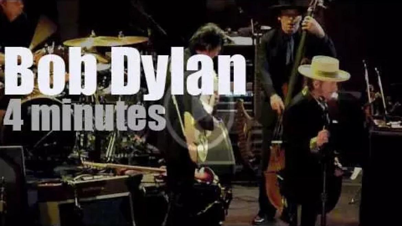 Bob Dylan visits London (2011)