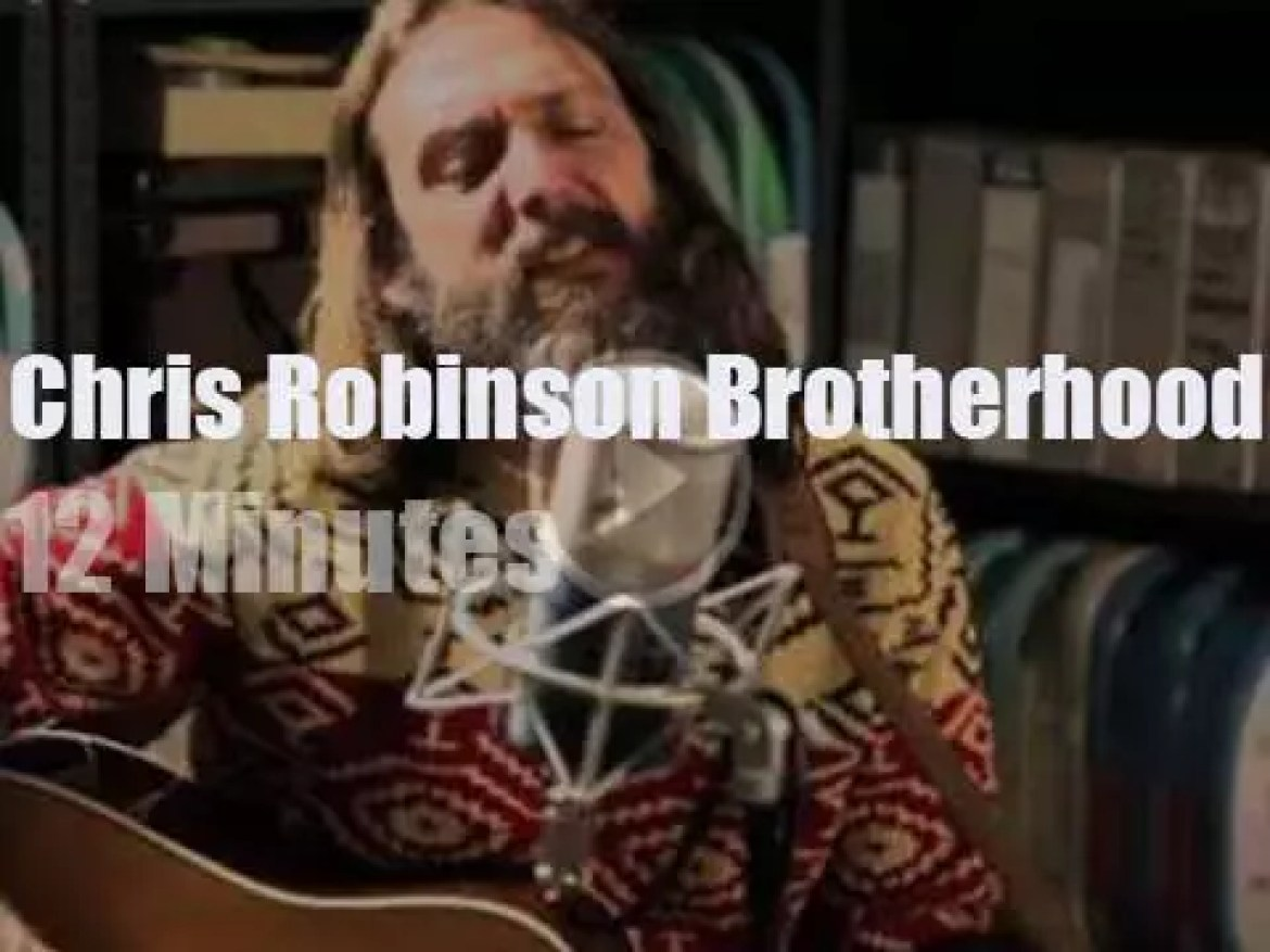 Chris Robinson Brotherhood perform for Paste Magazine (2015)