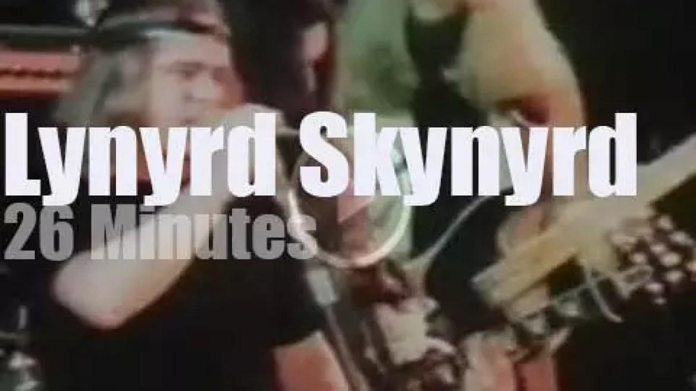 German TV tapes Lynyrd Skynyrd (1974)