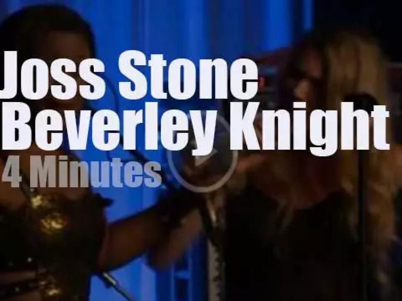 Joss Stone meets Beverley Knight (2012)