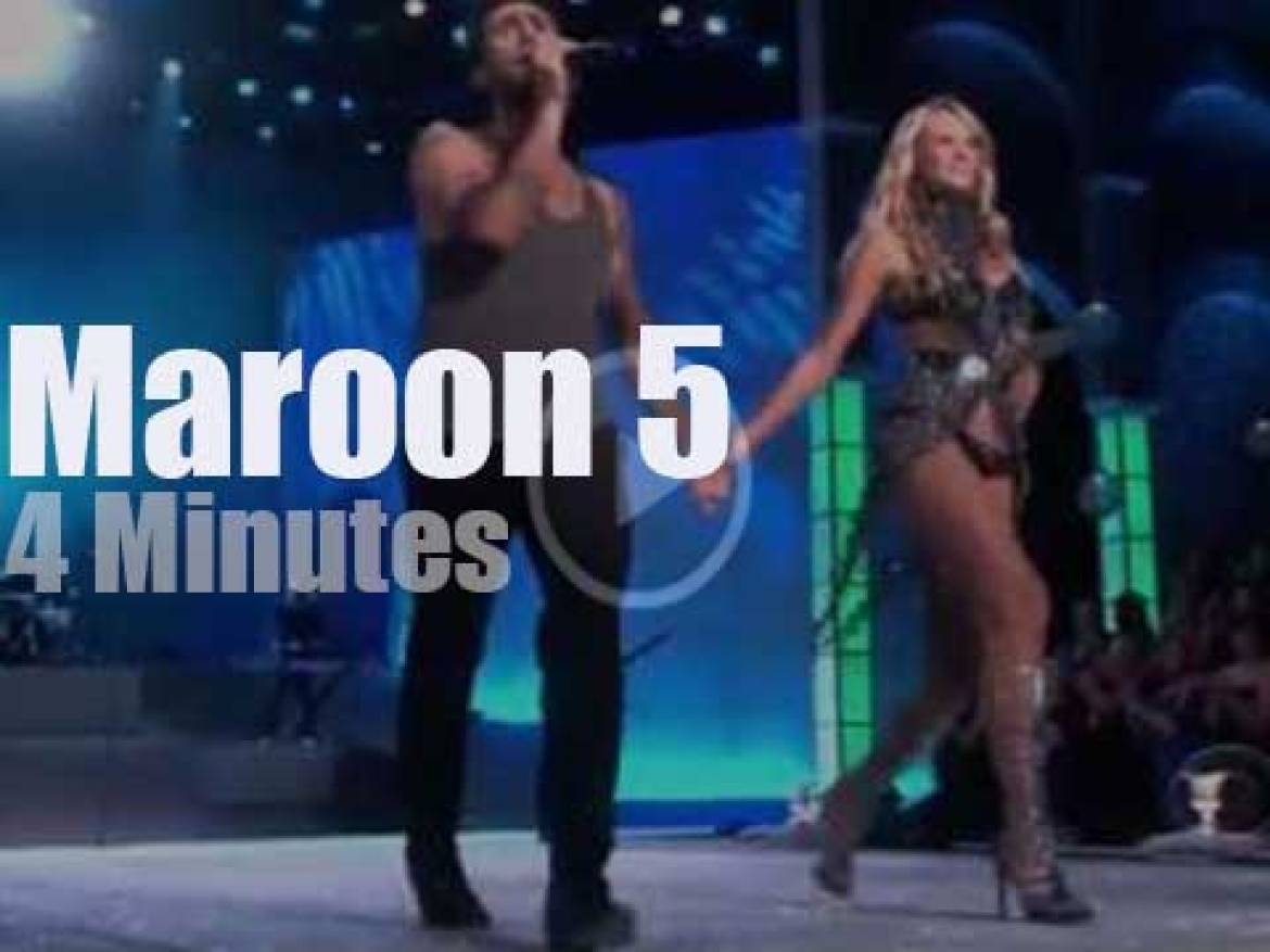 On TV today, Maroon 5 at Victorias Secret Fashion Show
