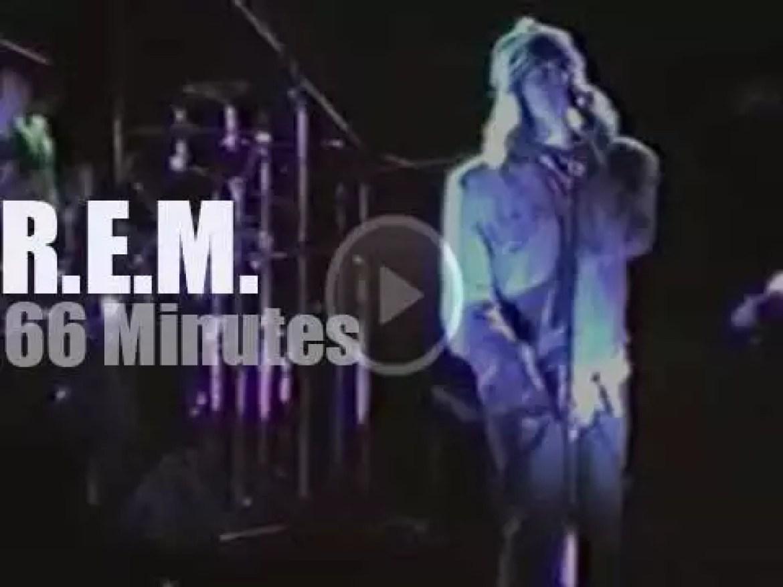 R.E.M. visit Yokohama (1984)