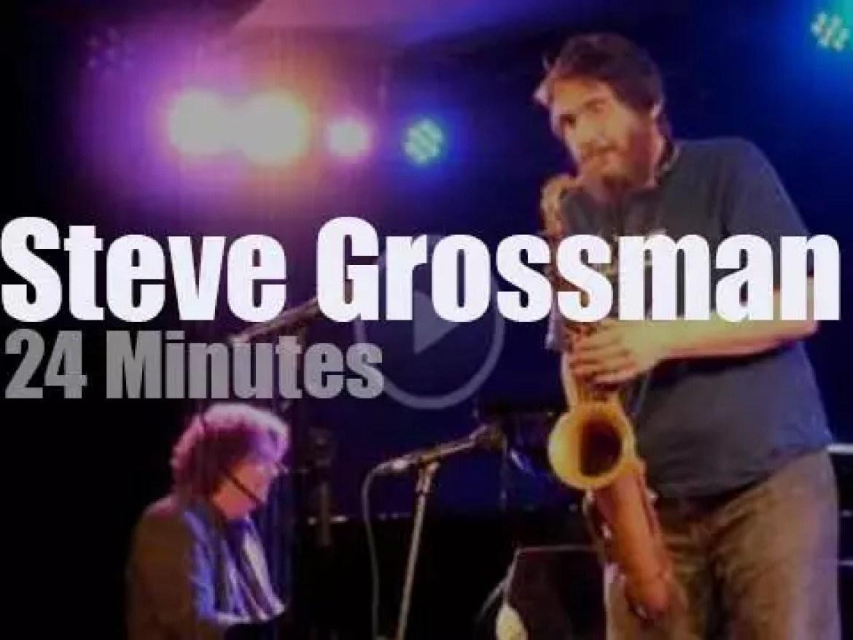 Steve Grossman takes his Quartet to Vienna, Austria (2013)