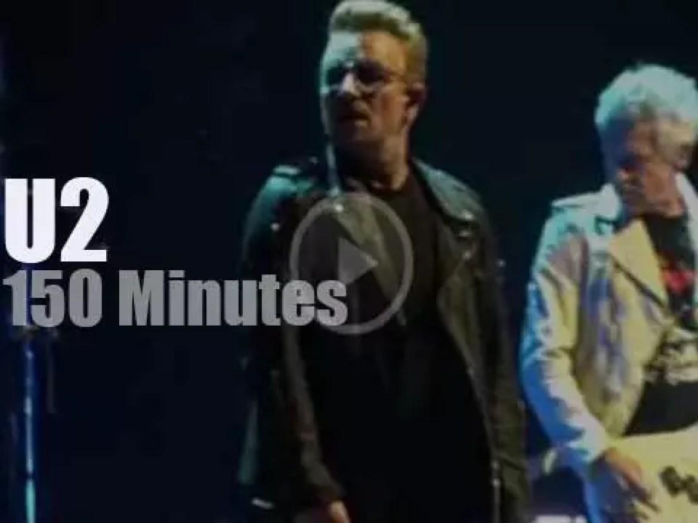 U2 spend four nights in Dublin (2015)