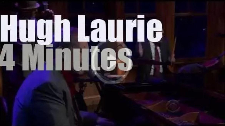On TV today, Hugh Laurie with Craig Ferguson (2012)