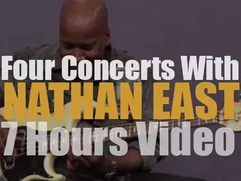 Four Concerts with Nathan East