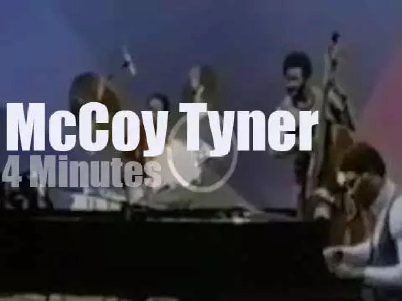 On TV today, McCoy Tyner Quartet at 'Soul!' (1971)