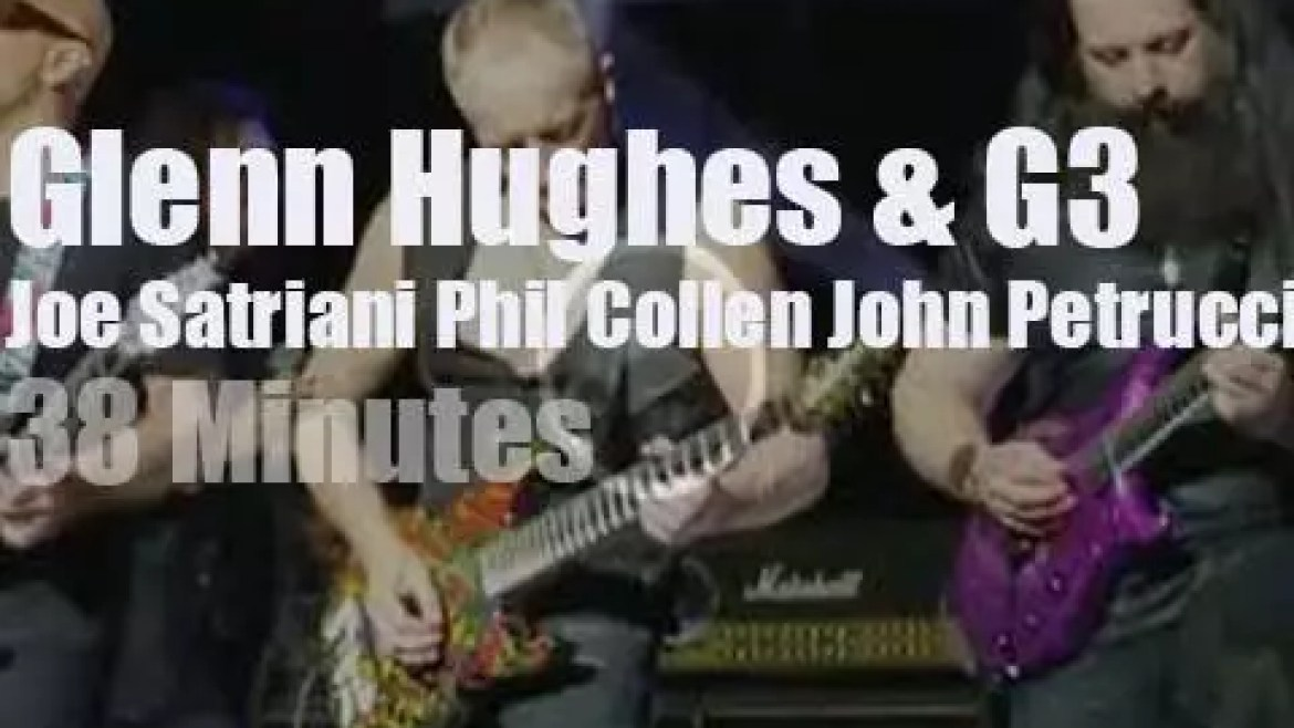 Glenn Hughes sits in with G3 (2018)