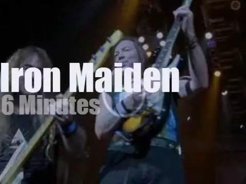 Iron Maiden fly to India (2008)