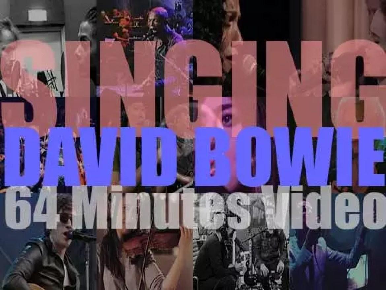 Singing  David Bowie