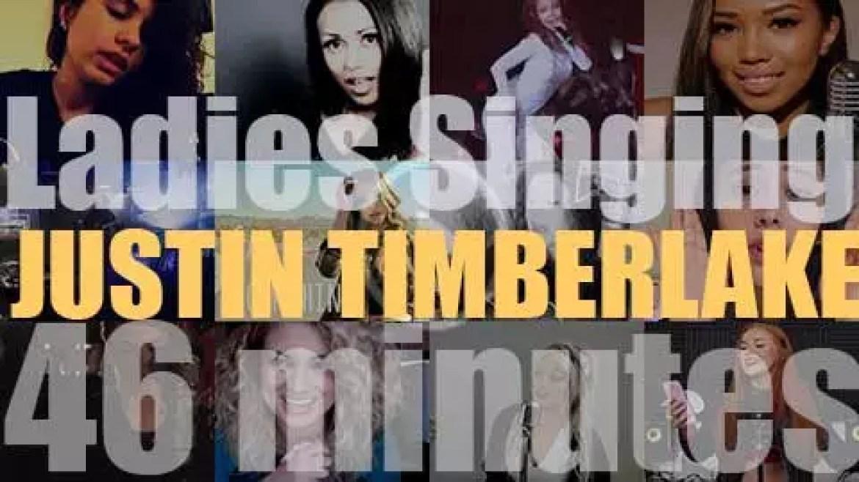 Singing (Ladies only)  Justin Timberlake