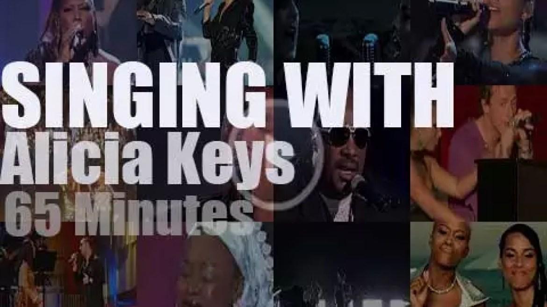 Singing With Alicia Keys