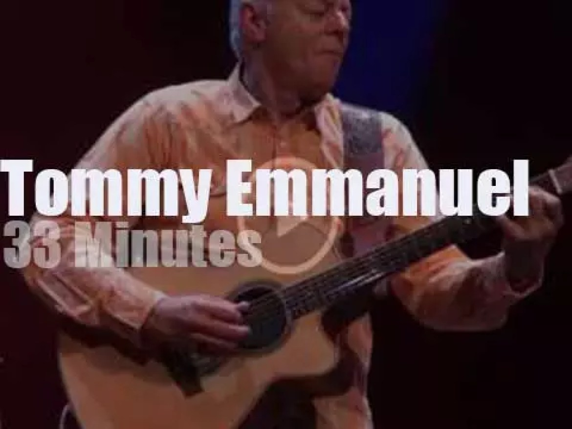 Tommy Emmanuel pays his yearly visit to Glasgow (2017)