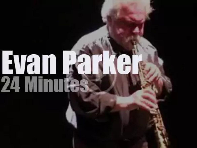 Evan Parker soloes in Pisa (2016)