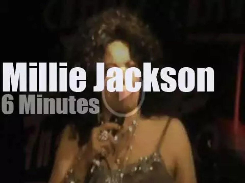 Millie Jackson rocks  Inglewood (2012)