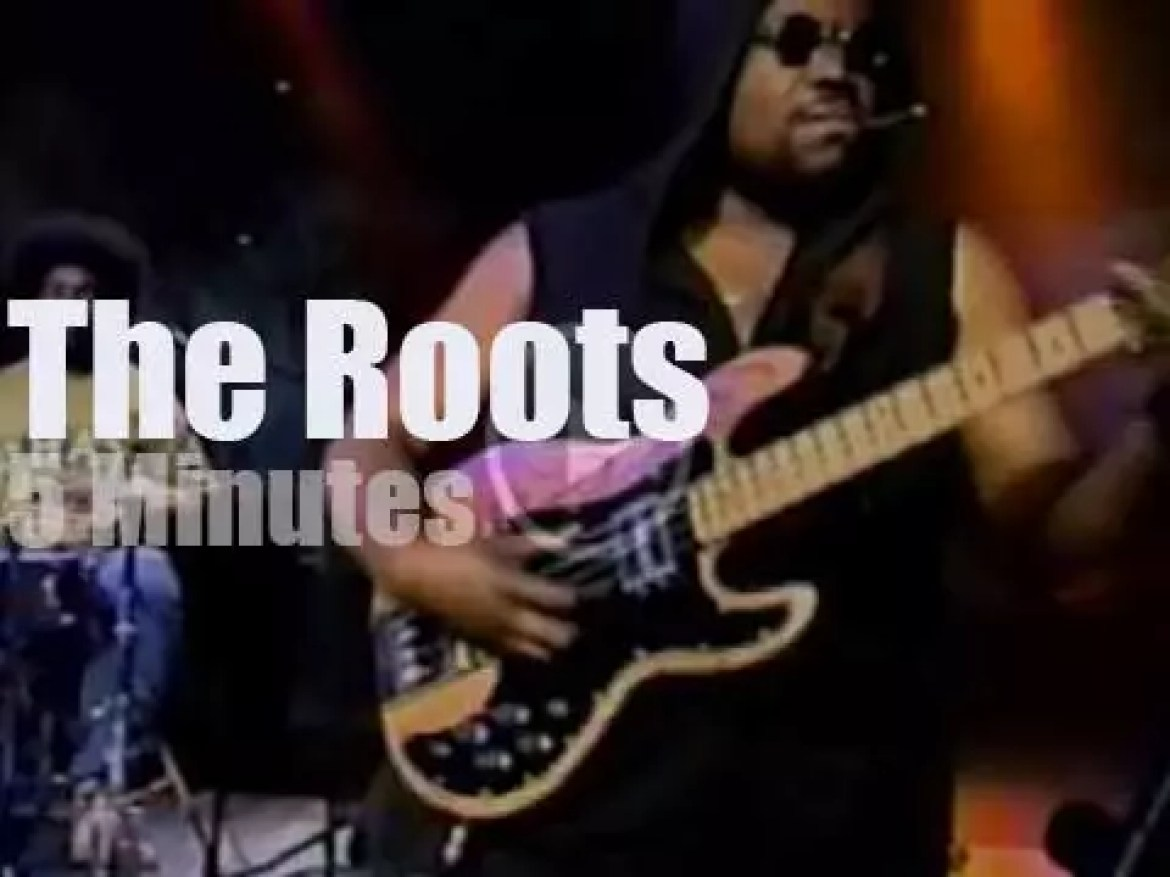 On TV today, The Roots with Conan (1995)