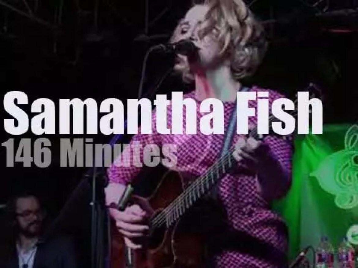 Samantha Fish  spends two nights in Michigan (2018)