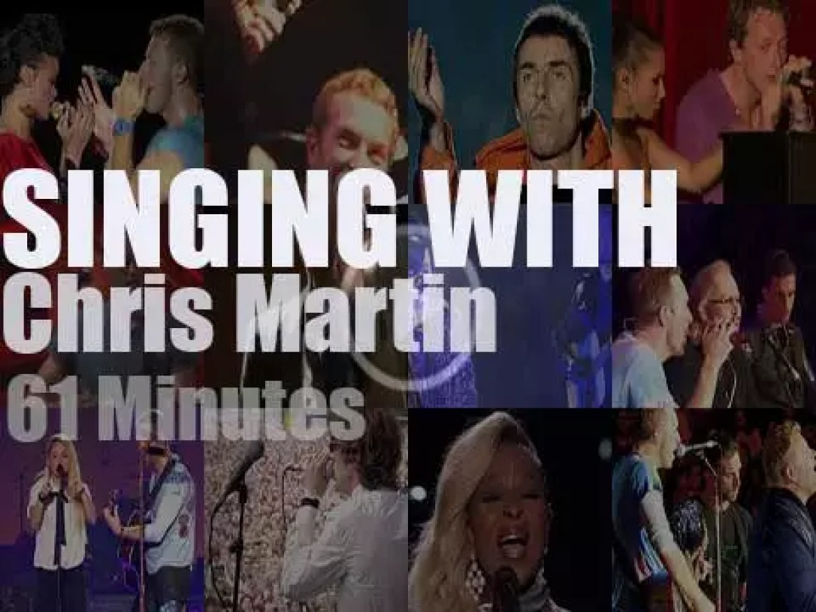 Singing With Chris Martin