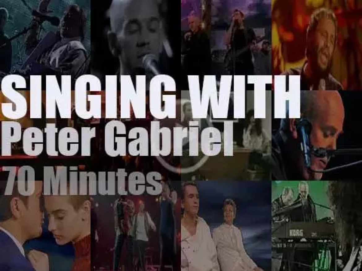Singing With Peter Gabriel