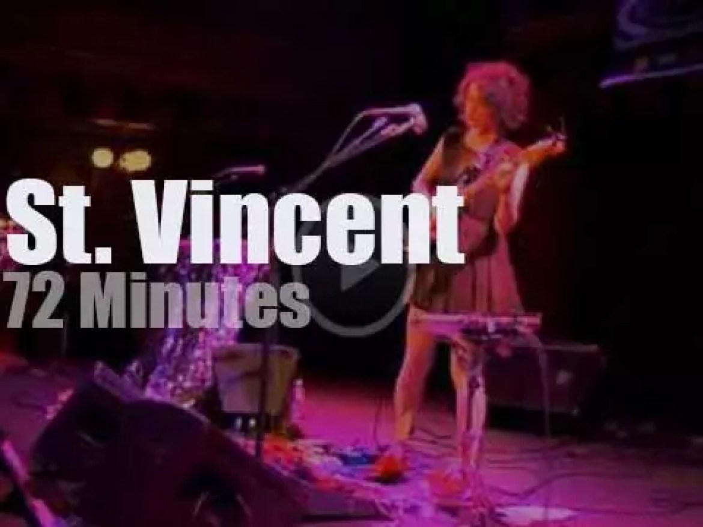 St. Vincent  go to San Francisco (2009)