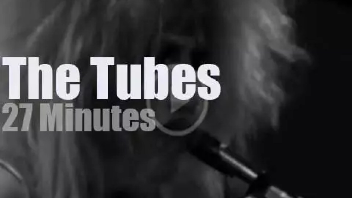 The Tubes rock Winterland (1975)