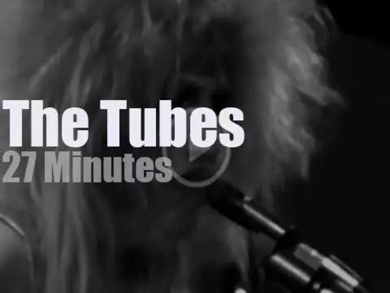 The Tubes rock Winterland (1975)