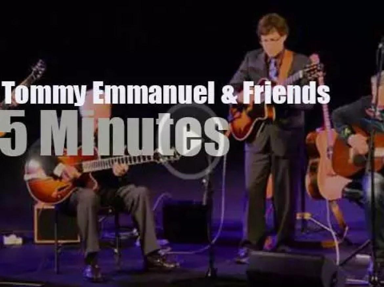 Tommy Emmanuel invites Frank, Vinny and Bucky (2012)