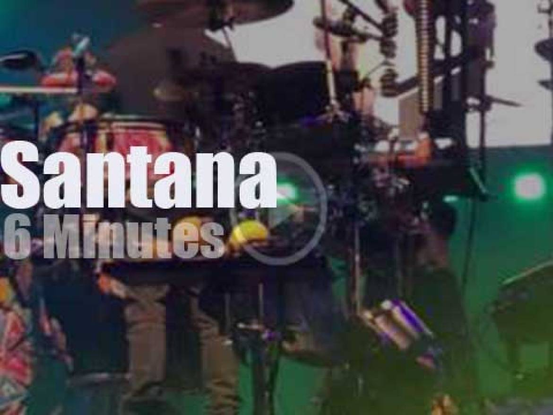 Carlos Santana visits Perth (2017)