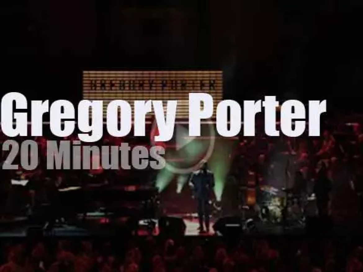 Gregory Porter sings at The Royal Albert Hall (2018)