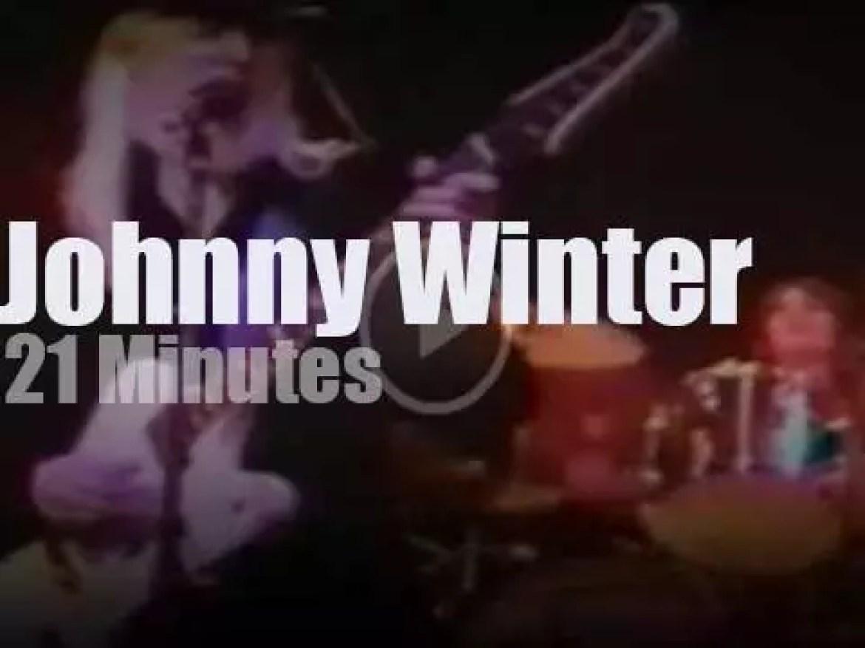 Johnny Winter rocks Connecticut (1973)